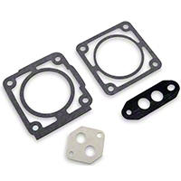 BBK Throttle Body Gasket Kit - 75mm (86-93 5.0L) - BBK 1573