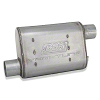 BBK Varitune Muffler - Aluminized 2.75 in. (79-04 All, Excludes 99-04 Cobra) - BBK 3102