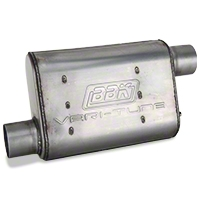 BBK Varitune Muffler - Stainless Steel 2.75 in. (79-04 All, Excludes 99-04 Cobra) - BBK 31025