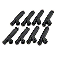 Edelbrock High Performance Fuel Injectors - 60 lb (87-04 V8) - Edelbrock 3686