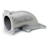 Edelbrock Low Profile Throttle Body Intake Elbow (99-04 GT) - Edelbrock 3848