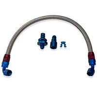 Russell Stainless Steel -AN Fuel Line Kit (05-10 GT) - Russell 651106