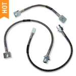 Russell Stainless Steel Braided Brake Line Kit - Front & Rear (87-93 5.0L) - Russell 693010