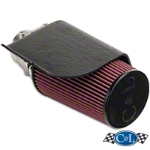 C&L Short Ram Air Intake w/80mm MAF (96-01 GT, Bullitt) - C&L 10699