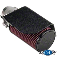 C&L Short Ram Air Intake w/82mm MAF (02-04 GT) - C&L 10699A