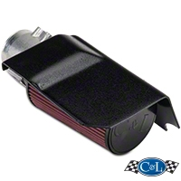 C&L Short Ram Air Intake w/95mm MAF (03-04 Cobra) - C&L 10699B