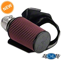 C&L Short Ram Air Intake w/85mm MAF (03-04 Mach 1) - C&L 10699M1