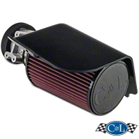 C&L Short Ram Air Intake w/73mm MAF (94-95 GT) - C&L 115A||115B||115