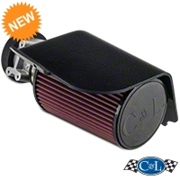 C&L Short Ram Air Intake w/73mm MAF (94-95 Cobra) - C&L 115A||115B||115