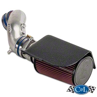 C&L Cold Air Intake w/76mm MAF Housing (94-95 GT) - C&L 118A||118B||118