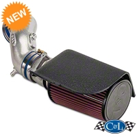 C&L Cold Air Intake w/76mm MAF Housing (94-95 Cobra) - C&L 118A||118B||118