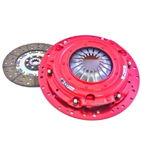McLeod RST Twin Disc 800HP Clutch - 10 Spline (Late 01-10 GT; 03-04 Mach 1, Cobra) - McLeod Racing 6912-03