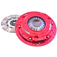 McLeod RXT Twin Disc 1000HP Clutch w/Flywheel - 26 Spline - 8 Bolt (07-10 GT500) - McLeod Racing 6918-07