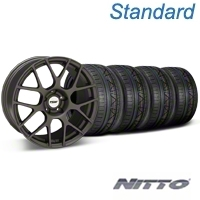 TSW Nurburingring Matte Gunmetal Wheel & NITTO INVO Tire Kit - 18x9 (05-14) - TSW KIT