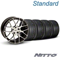 TSW Nurburingring Gunmetal Wheel & NITTO INVO Tire Kit - 18x9 (05-14) - American Muscle Wheels KIT||27353