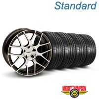 TSW Nurburingring Gunmetal Wheel & Mickey Thompson Tire Kit - 18x9 (05-14) - TSW KIT