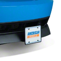 Flip Down License Plate Holder - Motorized (79-14 All) - AM Exterior 400EU