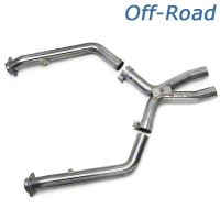 Kooks Off-road Shorty X-pipe (05-10 GT) - Kooks 6024-OX