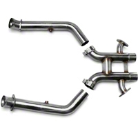 Kooks Off-Road H-Pipe (12-13 Boss w/ Long Tube Headers) - Kooks 60-42-ORH-302BOSS