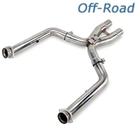 Kooks Off-road Shorty X-Pipe (11-12 GT500) - Kooks 6029-OX-2011