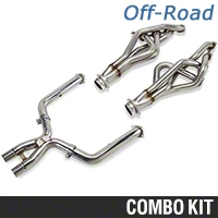 Kooks Header and Off-Road X-Pipe Combo - 1-3/4in (11-12 GT500) - Kooks KIT||6027-2011||6029-OX-2011