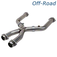 Kooks Off-road X-Pipe - 2.5 in (99-04 4.6L for Long Tube Headers) - Kooks 6011