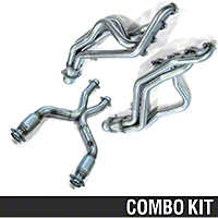 Kooks Header and Catted X-Pipe Combo - 1-5/8 in. (99-04 GT) - Kooks 5998S||6012