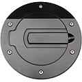SHR Black Fuel Door (05-09 All) - SHR 5001-B