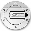 SHR Chrome Fuel Door - GT Logo (05-09 All) - SHR 5001-C-GT