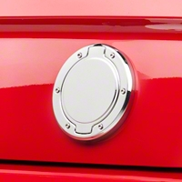 SHR Chrome Deck Lid Medallion - Plain (05-09 All) - SHR S197-400-C-PL