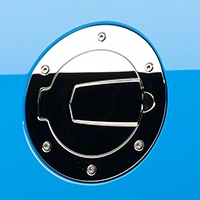 SHR Chrome Fuel Door (10-14 All) - SilverHorse Racing S297-5001-C