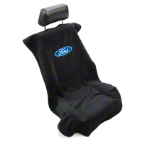 Seat Armour Protective Cover - Black - Ford Oval (79-14 All) - AM Interior SA100FORDB