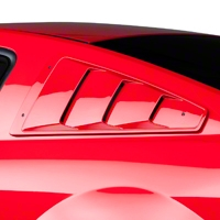Roush Quarter Window Louvers - Unpainted (05-09 All) - Roush 401346