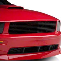 Roush 9 Bar Black Billet Grille (05-09 GT) - Roush Performance 403184