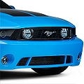 Roush 6 Bar Lower Black Billet Grille (10-12 GT, V6) - Roush 420128