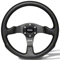 MOMO Competition Steering Wheel (84-14 All) - MOMO USA COM35BK0B