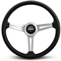 MOMO Retro Steering Wheel (84-14 All) - MOMO USA RET36BK2S