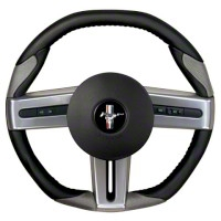 Grant Steering Wheel - Black/Gray (05-09 All) - Grant Steering Wheels 52101