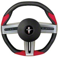 Grant Steering Wheel - Black/Red (05-09 All) - Grant 52103