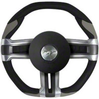 Grant Steering Wheel - Black/Gray (10-14 All) - Grant Steering Wheels 52201