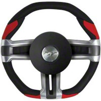 Grant Steering Wheel - Black/Red (10-14 All) - Grant 52203