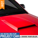 Hood Scoop - Pre-painted (05-09 GT, V6)