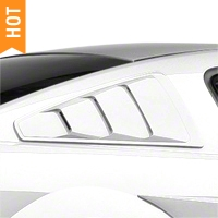 MMD Quarter Window Louvers - Unpainted (05-14 All) - MMD 71303-00