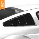 MMD Quarter Window Louvers - Black (05-14 All) - MMD 71303-UA