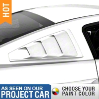 MMD Quarter Window Louvers - Pre-painted (05-14 All) - MMD 71303