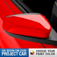 Mirror Covers - Pre-painted (10-14 V6) - AM Exterior MCV-10-V6-UNP