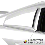 MMD Quarter Window Scoops - Pre-painted (99-04 All) - MMD 71314