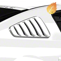 MMD Classic Quarter Window Louvers - Unpainted (05-09 All) - MMD 71315-00