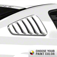 MMD Classic Quarter Window Louvers - Pre-Painted (05-09 All) - MMD 71315
