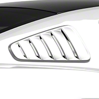 MMD Classic Quarter Window Louvers - Unpainted (10-14 All) - MMD 71316-00